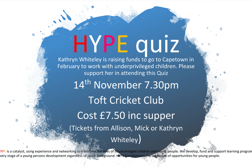 Hype Quiz Night