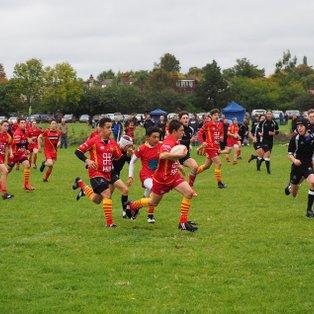 Cambridge U15 17 - 12 Colchester