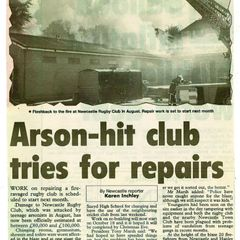 Club Arson Attack September 1999