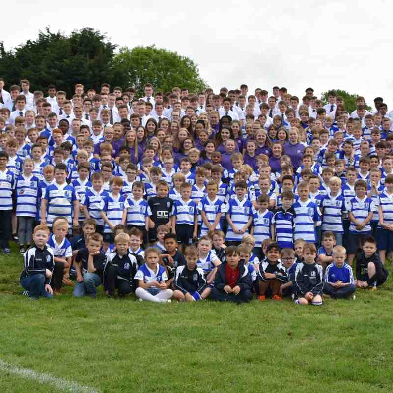"Mini & Junior Presentation Day - May 18 - Teams and ""thank yous"""