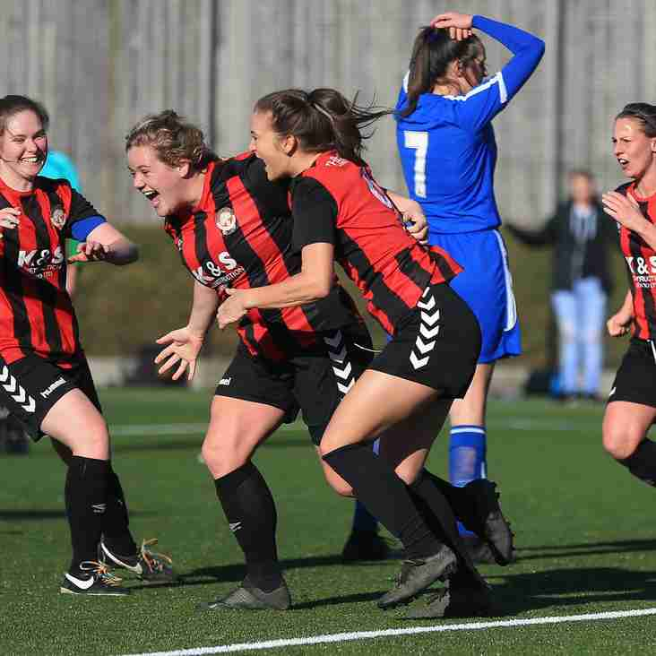 UP FOR THE CUP ! Triumphant Ladies reach the final!
