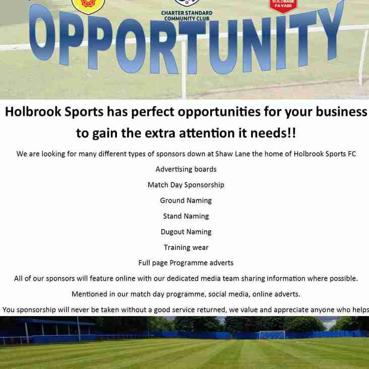Sponsorship Opportunity