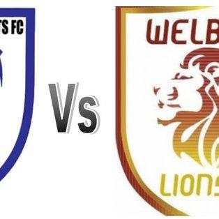 Holbrook Sports 3 Vs 1 Welbeck Lions