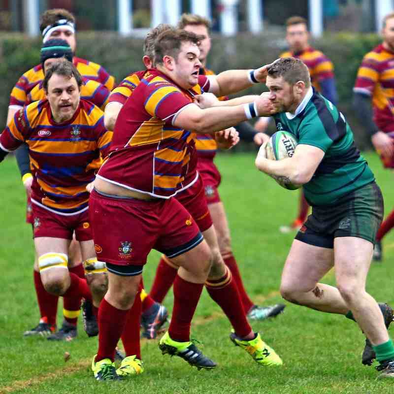 Carnforth V Clitheroe - 21st Jan 17 - Thanks to Tony North