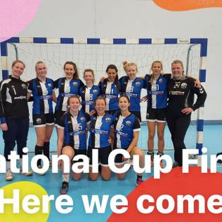 Eagles women team reach the England Handball National Cup final
