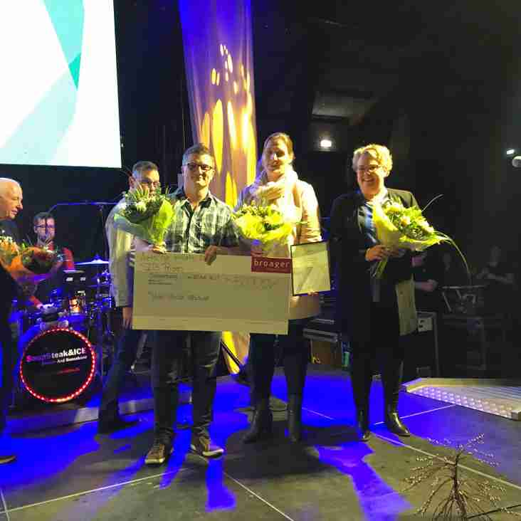 Eagles junior partnership wins Danish sports award