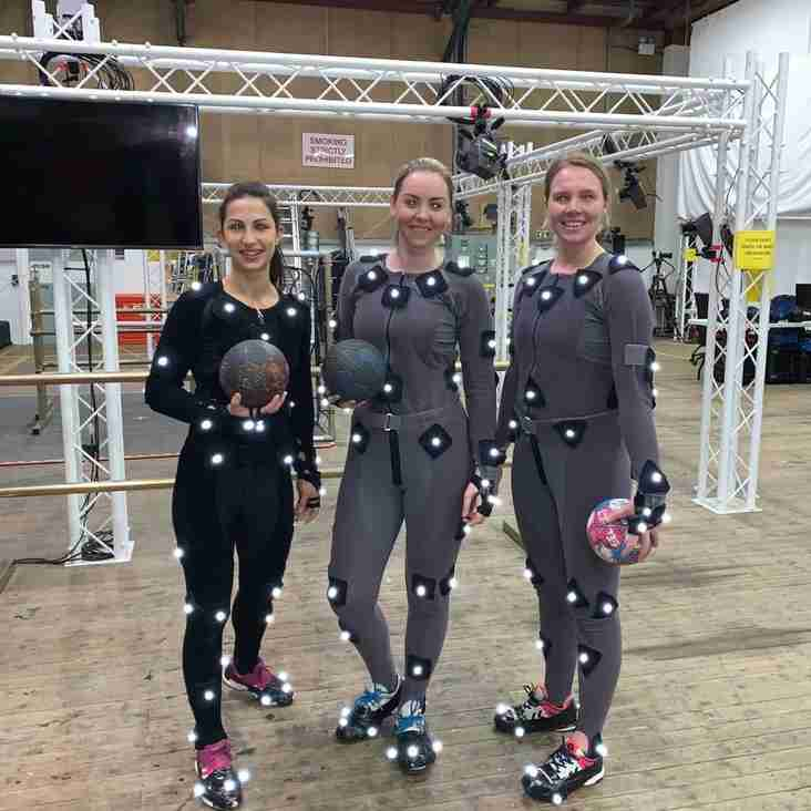 Eagles in handball motion capture project