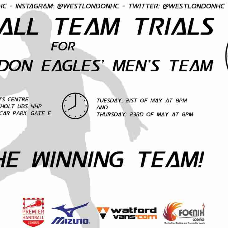 West London Eagles Men Trails!