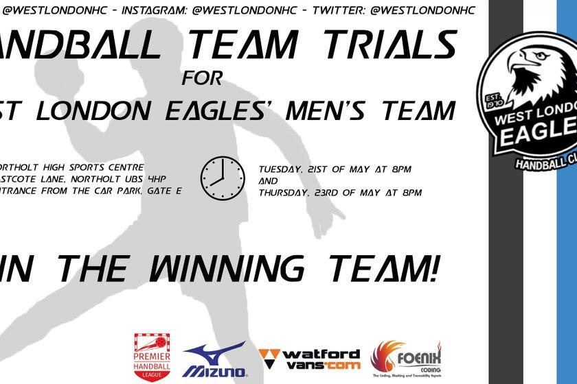 West London Eagles Men Trails!