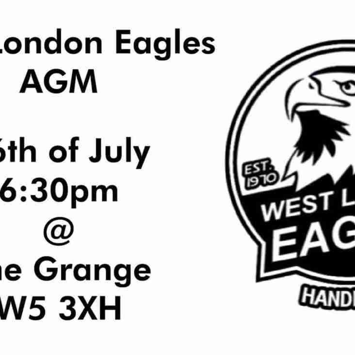 West London Eagles AGM