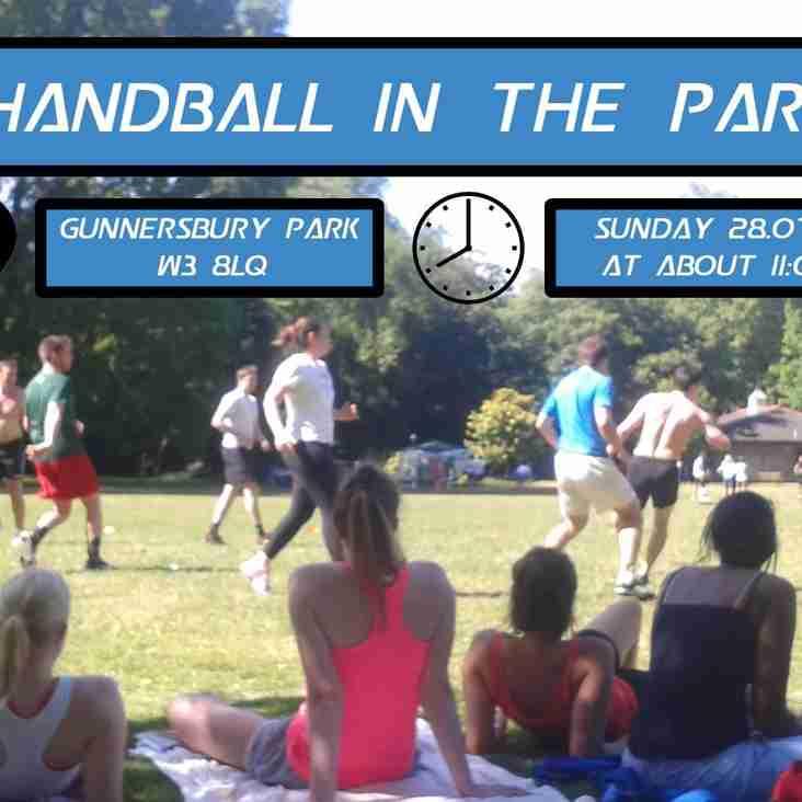 Handball In The Park 2019