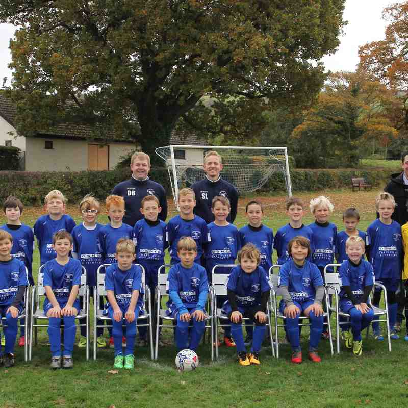 Winscombe Under 9's - Warriors & Wolves 2016/17 Season