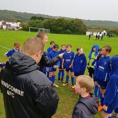 Hutton v Winscombe Warriors Under 11's