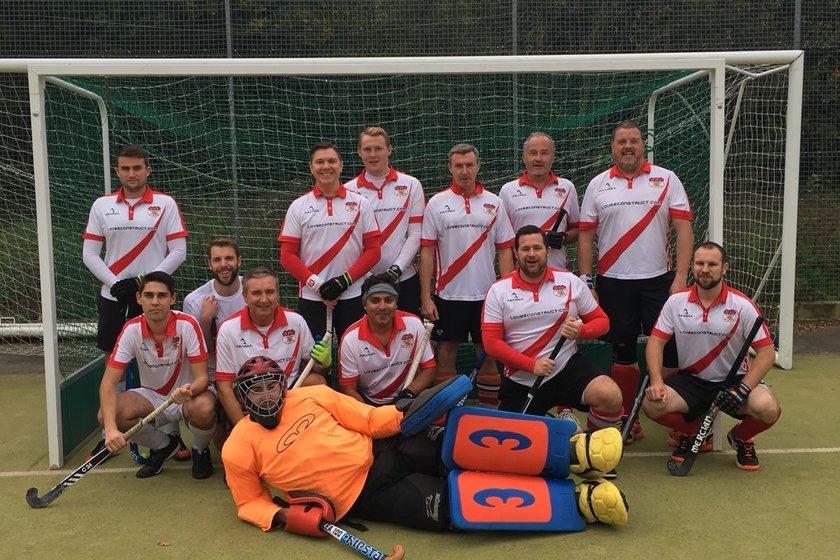 Mens 2 beat Chertsey Thames Valley Men's 2s 1 - 4