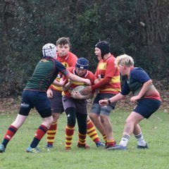 Old Salts Under 14's V's Lichfield and Alcester (home)