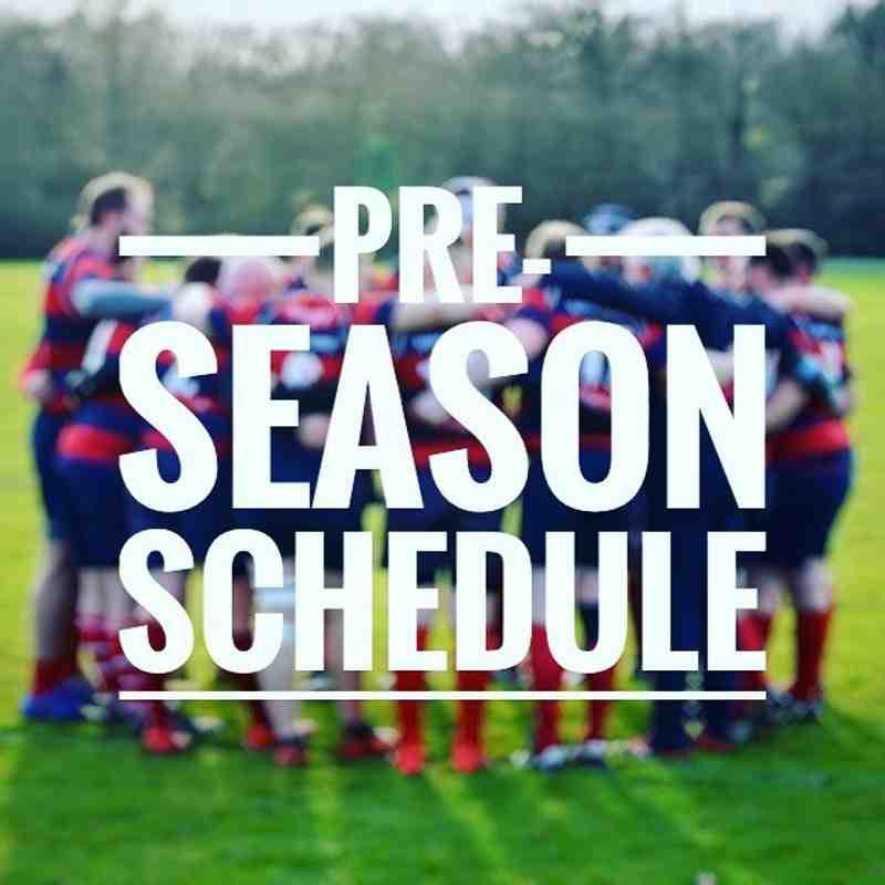 Pre Season Training is Here!