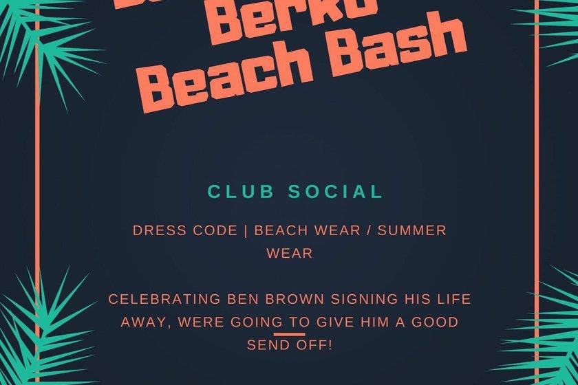 Ben Brown's Berko Beach Bash!