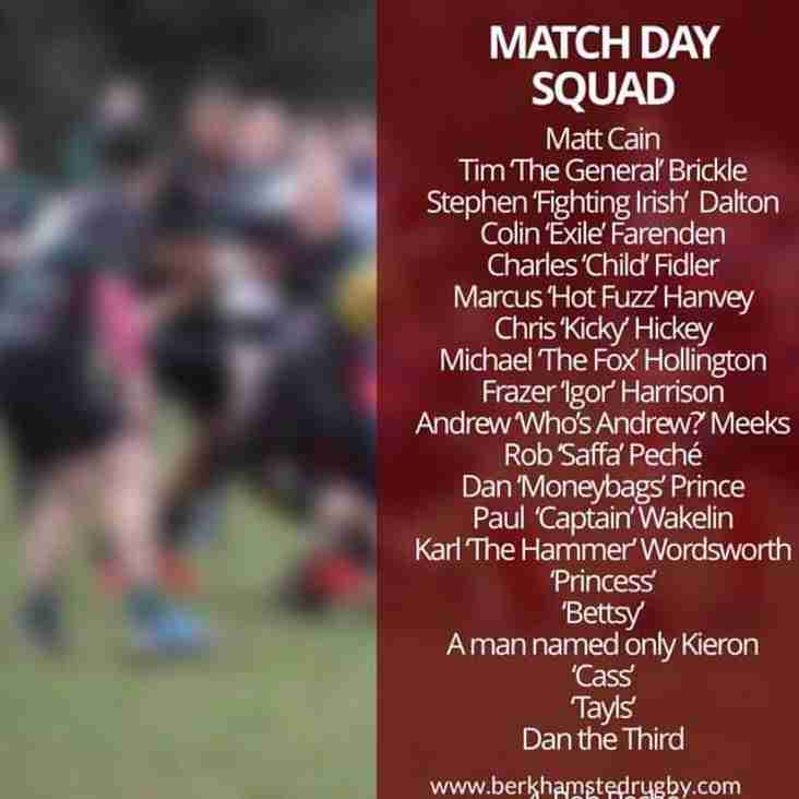 Team for News for Saturday