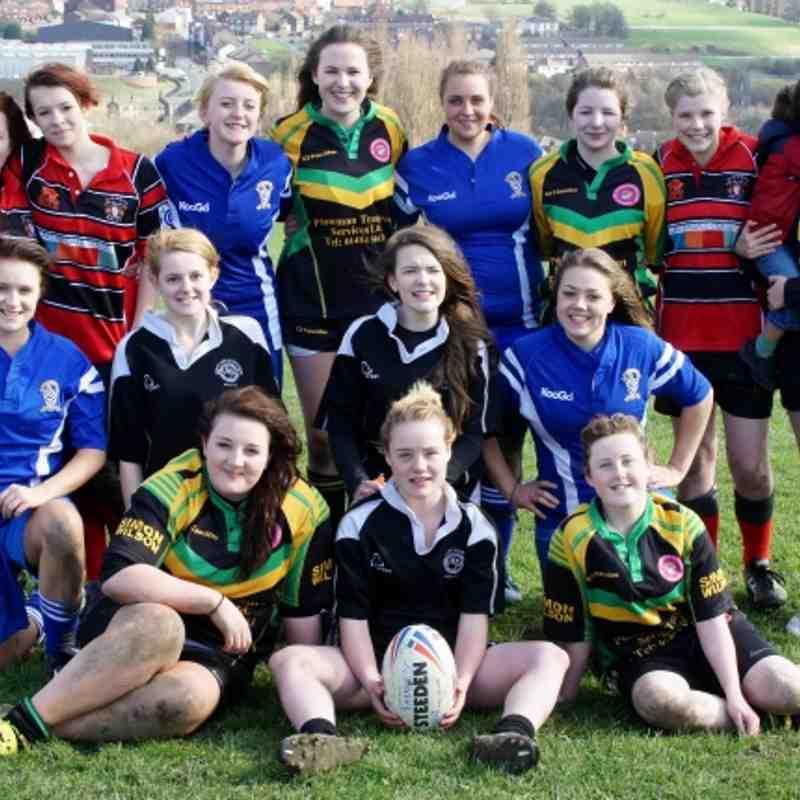 U14/U16 Girls at Farnley 10/03/12