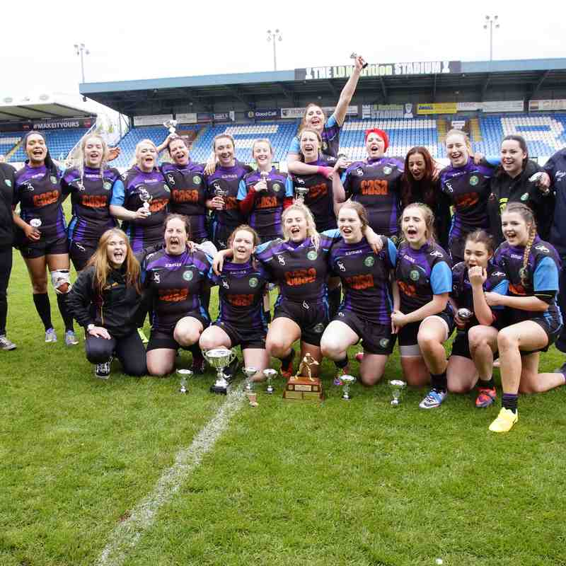 St Joes Ladies v Hunslet Plate Final 16/04/17