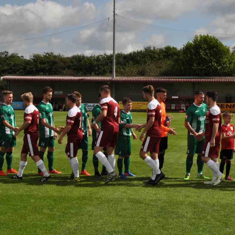 Paulton Rovers v Slimbridge