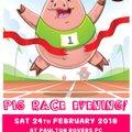 Pig Race Evening