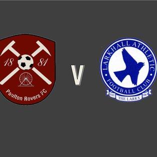 Paulton Rovers 1 - 3 Larkhall Athletic