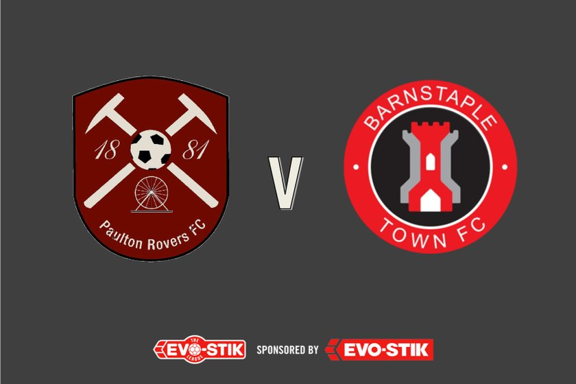 1st Team lose to Barnstaple Town 1 - 2