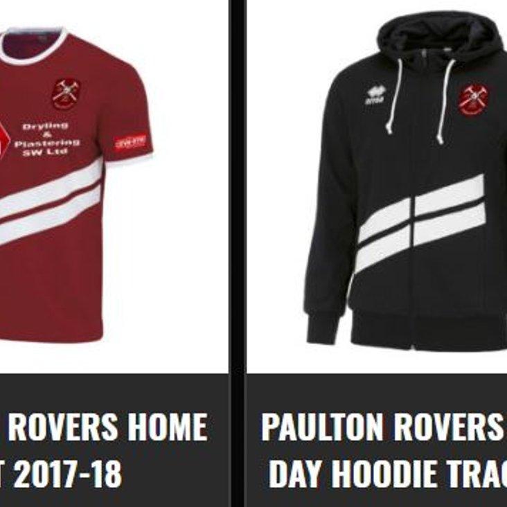 Paulton Rovers Club Shop<