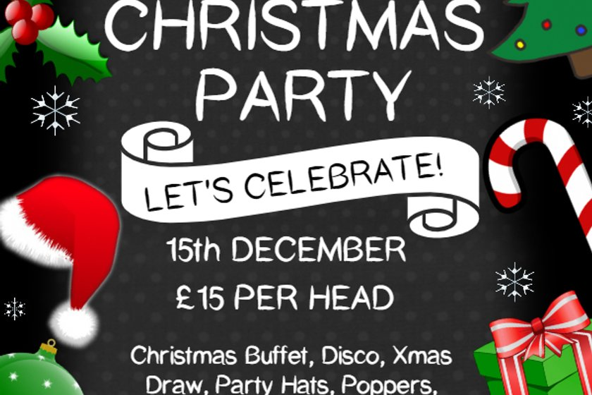 Paulton Rovers Christmas Party