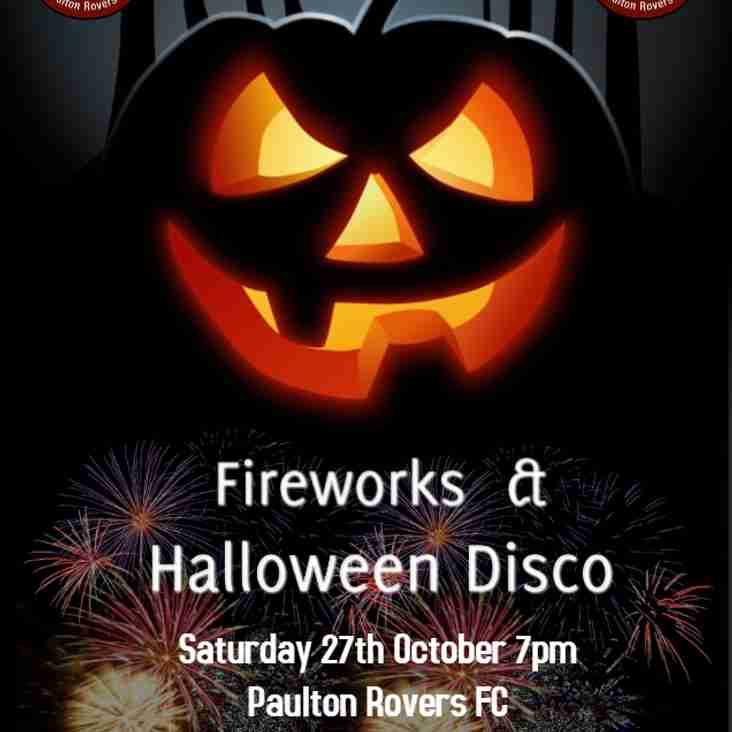 Fireworks & Halloween Disco