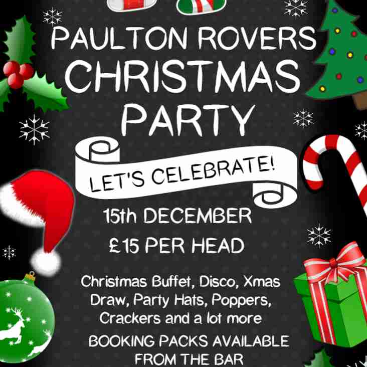 Paulton Rovers Christmas Party