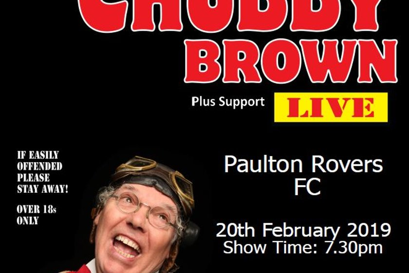 NEW DATE ANNOUNCED!!  ROY CHUBBY BROWN @ PAULTON ROVERS