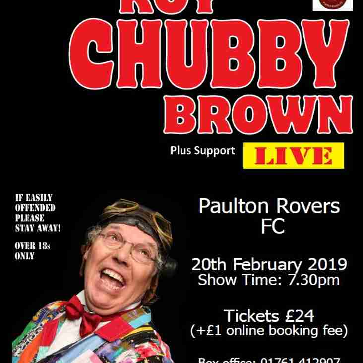 ROY CHUBBY BROWN @ PAULTON ROVERS
