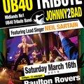 UB40 Tribute Night with Neil Sartain