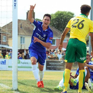 Lowestoft Town 1-5 Norwich City