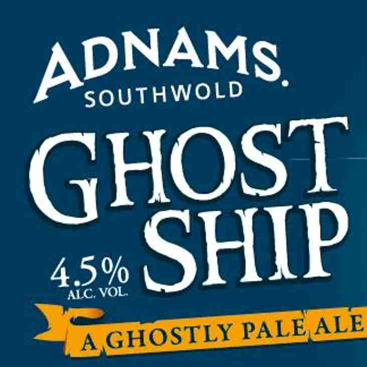 Adnams become an Official Club Supplier