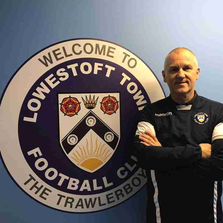 Brooks confirmed as the new Lowestoft Town manager