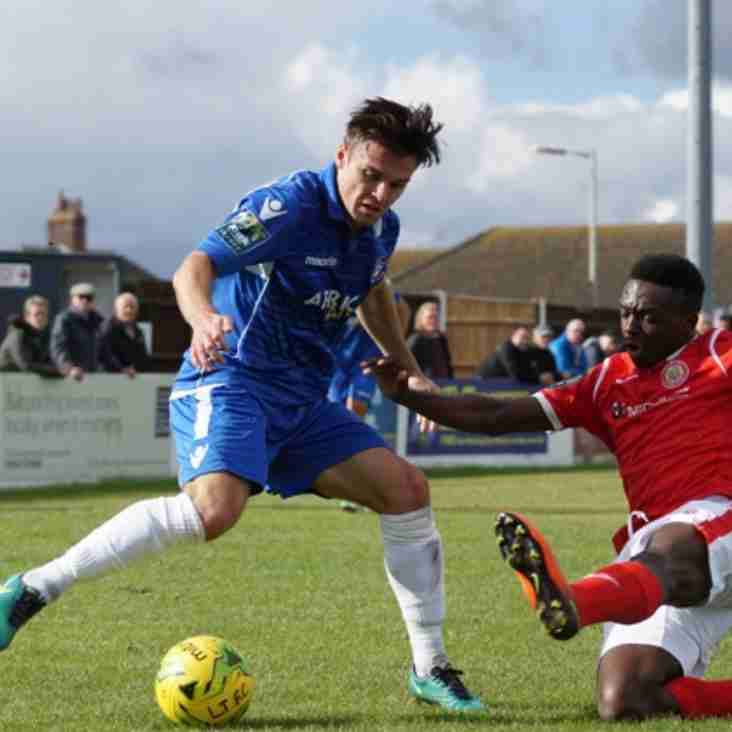 Callum White departs Lowestoft