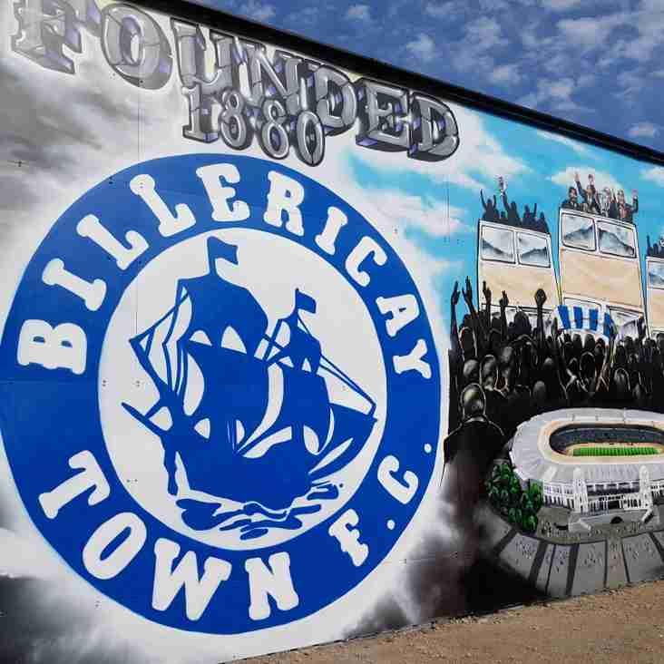 Billericay (A) fixture update