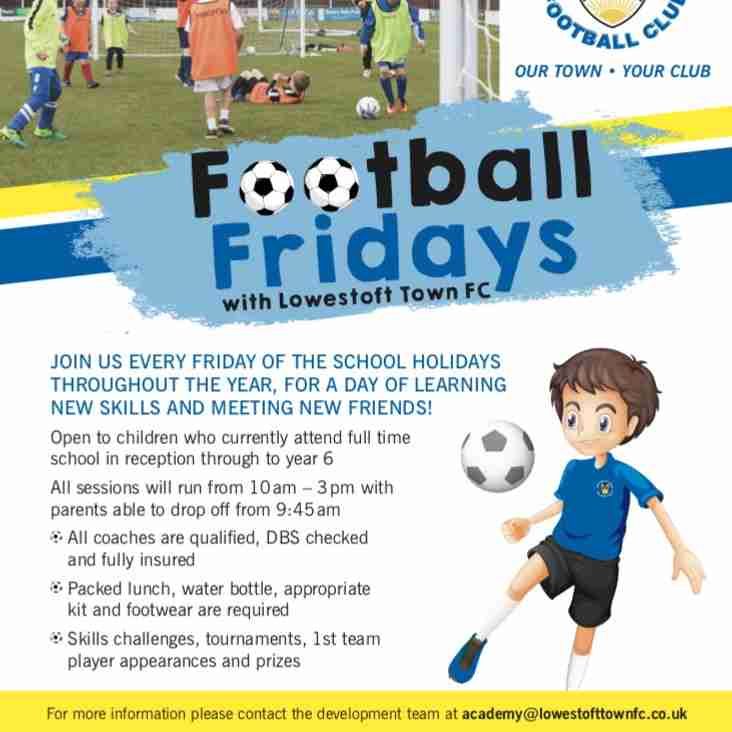 Football Fridays with LTFC