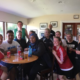 Game of two halves for Binfield Ladies