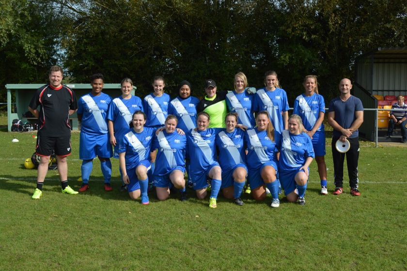 Binfield Ladies beat Taplow United Reds 1 - 9