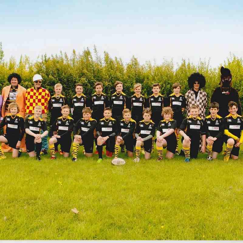 Burnham 2015 - U13 Touring Squad