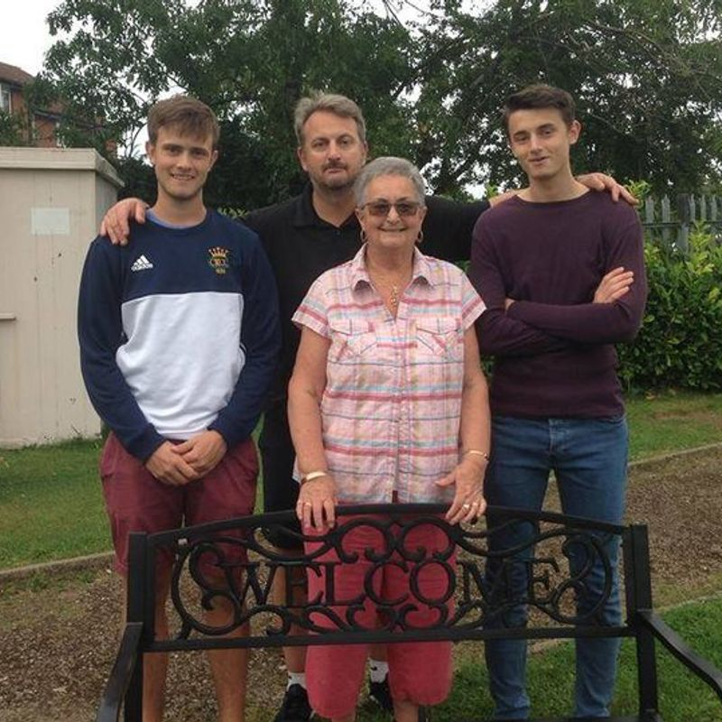 A lasting memorial for Cheltenham Saracens founder