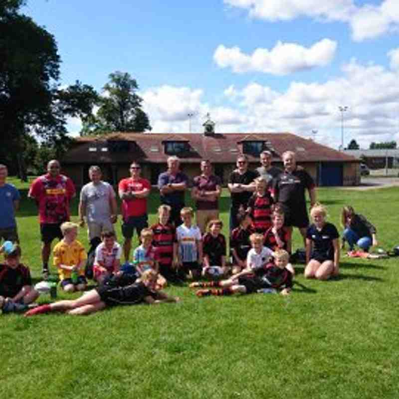 Touch Rugby - August