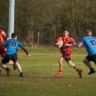 Woodbridge run out winners in a hard fought friendly