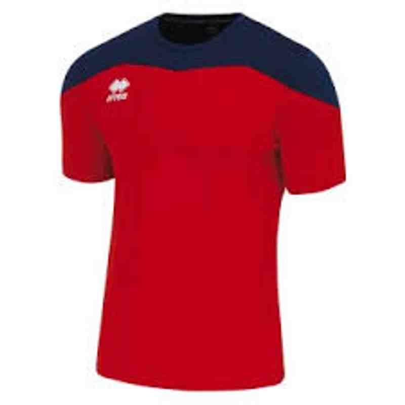 Goalkeeper top red