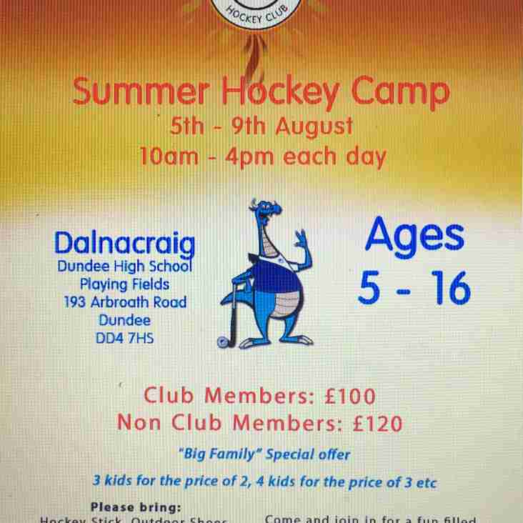 Summer Camp Bookings now open!