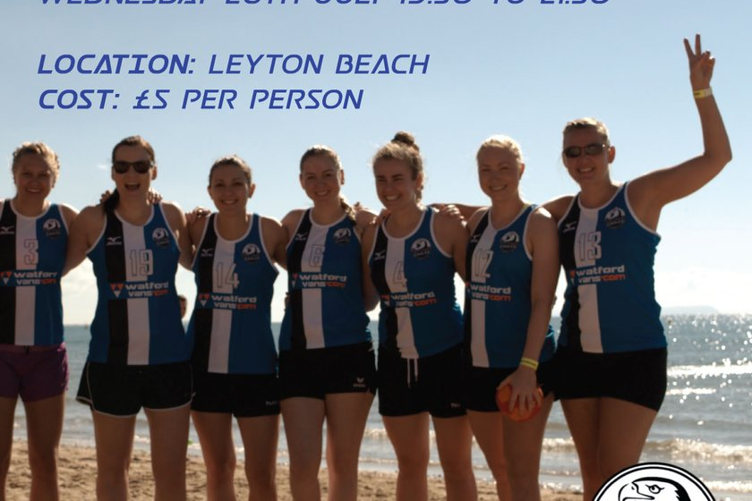 Two beach handball sessions planned for July